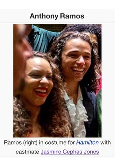 GUYS ANTHONY RAMOS'S WIKIPEDIA PAGE PICTURE IS HIM WITH JASMINE JONES WHOEVER DID THIS I BLESS YOU AND YOUR FAMILY