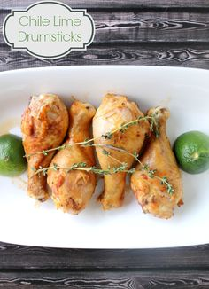 Easy Recipe: Chile, Soy, Lime Drumsticks