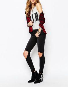 10 mejores imágenes de Moda - Pantalones y Monos 0e54f6f17beb