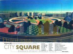 Dholera SIR- City Square. #Dholera #DholeraSIR #DholeraSmartCity #Gujarat