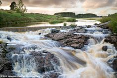 Nautelankoski waterfalls - Lieto - Finland PhotoSpot by Valentino Valkaj on PhotoSpotLand.com  #waterfall #travelphotography #finland #photography