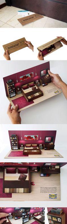 Mala direta pop up da IKEA - Comunicadores.info