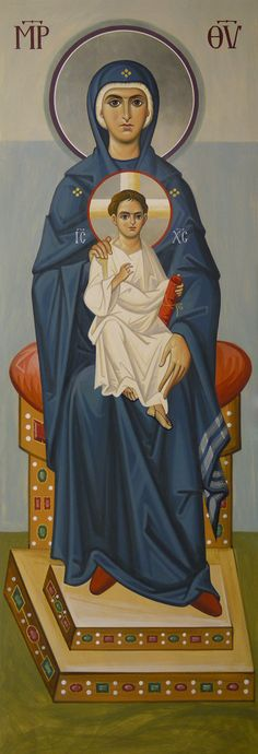 The Theotokos and the Christ Child Byzantine Icons, Byzantine Art, Divine Mother, Mother Mary, Religious Icons, Religious Art, Religion, Images Of Mary, Christian Images