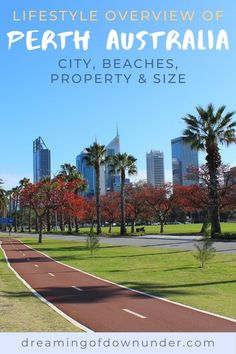 Learn about the lifestyle in Perth, Australia and find out if it's the city for you. This guide by an expat includes Perth beaches, property, weather and city attractions. #perth #westernaustralia #expat Australia Country, Perth Australia, Coast Australia, Western Australia, Moving To Australia, Australia Travel, Fly To Bali, Langley Park, Living In Adelaide