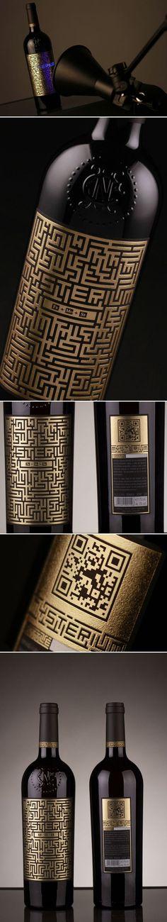 Mysterium Wine Packaging