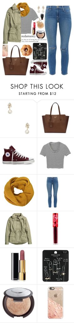 """""""i need some help !! (read description pls)"""" by love-rebelwolf ❤ liked on Polyvore featuring Kate Spade, Gucci, Converse, Frame Denim, H&M, Lime Crime, Chanel, Topshop, Becca and Casetify"""