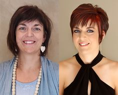 """Magical Makeover   Chata Romano  """"The end result truly exceeded all my expectations; thank you for changing my life! I get compliments non-stop; the best lift in spirit I have had in years. As soon as I changed my online profile I received 82 likes and 50 positive comments; I have never felt so 'famous' in my life."""" – Yvette. Visit: http://chataromano.com/makeover/yvette-37-senior-manager/"""