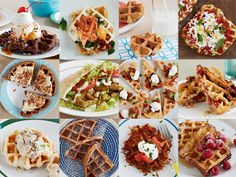Waffle It: 12 Favorite Foods Totally Transformed with a Waffle Iron...waffled falafel, waffled bibimbap with crispy rice! Yum-o!!