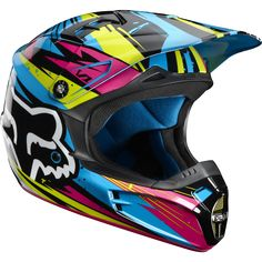 V1 Undertow Helmet - Fox Racing  The cutest!! xs