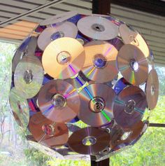 I've used CDs for something like this before.  Now...to collect a bunch all over again...                                                                                                                                                                                 Mais