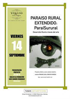 Desarrollo #rural y #arte @paraisurural