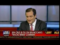 """Sen Cruz (R-TX) On Plan To Abolish The IRS In Wake Of Scandal & Responds To """"Wacko Bird"""" Comment"""