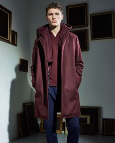 Our favorite hooded coat of the season