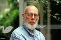 American writer and illustrator Edward Gorey (1925 - 2000) at his home in Yarmouth Port, Massachusetts, 30th August 1998.