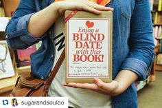 We  our blind dates with a book! #Repost @sugarandsoulco with @repostapp.  My first blind date with a book! SO EXCITED!!! I got it at @copperfieldscalistoga right up the street from the beautiful @calistogaspa! #visitnapavalley #feedthesoulretreat #blinddatebook #booklover #books #bookstagram #lovebooks #bookstore #bookworm by copperfieldscalistoga