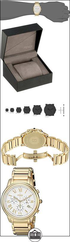 Fendi Classico Men's 42mm Chronograph Synthetic Sapphire Quartz Watch F252414000  ✿ Relojes para hombre - (Lujo) ✿