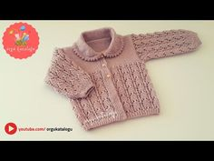 Let's learn together your own fashion accessories, basic and other creative points, techniques and tips to learn or develop the art of crochet and kni. Baby Hats Knitting, Knitting For Kids, Baby Knitting Patterns, Knitted Hats, Easy Crochet Headbands, Crochet Headband Pattern, Knitted Baby Cardigan, Knit Crochet, Baby Kids