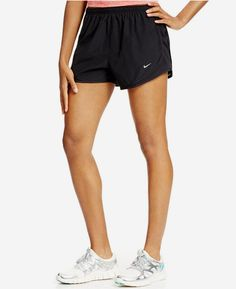 Nike Shorts, Dri-FIT Black Tempo Track http://www.movetivate.net/r.php?link=1243 #fitness #sexy #hot #motivation #progress