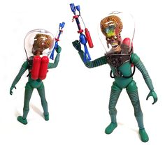 REVIEW: Hot Toys MARS ATTACKS! MMS Action Figures