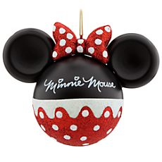 Super cute disney christmas tree ornament make a homemade minnie alice brans posted minnie mouse ornament from disney to their wonderful world of disney postboard via the juxtapost bookmarklet solutioingenieria Gallery