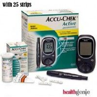 Buy Blood Glucose meters For Monitoring glucose level in blood. Healthgenie provides wide range of Branded Glucometers-Accu-Chek, One Touch Online in India at affordable price with free home delivery anywhere in India from HealthGenie.in.