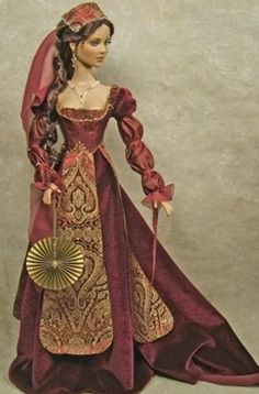 history barbies. 47.45.4 qw love the gown