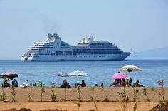 Seabourn Odyssey. The very best cruise line ever. Had the most wonderful trip from Istanbul to Venice