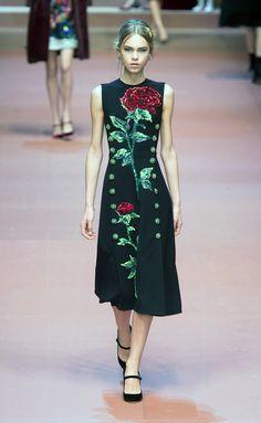 Dolce & Gabbana - MFW - Otoño/Invierno 2015-2016 - www.so-sophisticated.com
