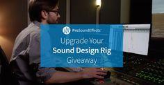 Upgrade Your Sound Design Rig Giveaway | Headphones 8TB RAID... IFTTT reddit giveaways freebies contests