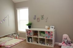 Habitaciones de bebé inspiradas en Montessori - Montessori inspired nurseries