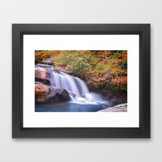 Ramsey Creek, South Carolina Framed Art Print by Mary Timman - $38.00