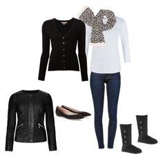 Black, White, Leopard & Jeans