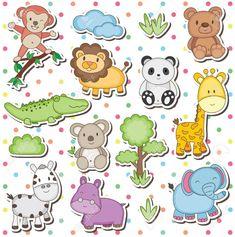 dibujos animales de la selva bebes - Buscar con Google