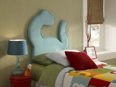 Shop Youth Turquoise MDF Polyester Dinosaur Twin Headboard with great price, The Classy Home Furniture has the best selection of to choose from Powell Furniture, Kids Bedroom Furniture, Bedroom Decor, Bedroom Sets, Theme Bedrooms, Kid Bedrooms, Accent Furniture, Dinosaur Bedding, Dinosaur Bedroom