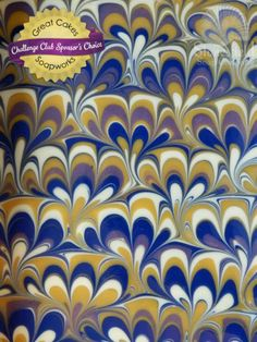 Peacock Swirl soap, scented with lavender, bergamot, and cedarwood by Stonesfield Soap