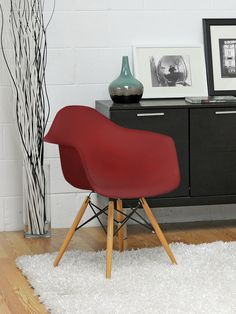 Pascal Plastic Shell Chair (Set of 2) from Shop Your Style: Midcentury-Inspired on Gilt