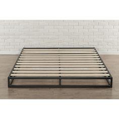 Priage 6-inch Queen-Size Metal Platform Bed Frame