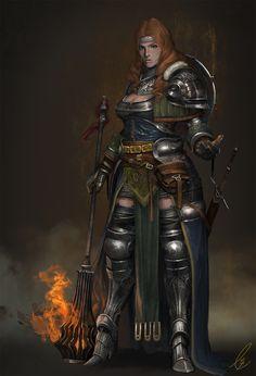 ArtStation - Breaking warrior, Takeshi Yoshida