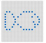 Ravelry: Fish Bobble Chart pattern by Kari Philpott