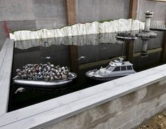Banksy Pond boat Dismaland