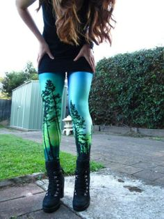 Black Milk Leggings Aurora Skye
