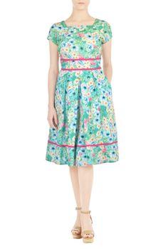 Salve Maria! A primavera está chegando e sabe no que eu penso? Em vestidos…