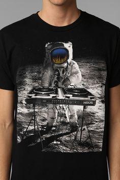 HOUS Lunar DJ Tee
