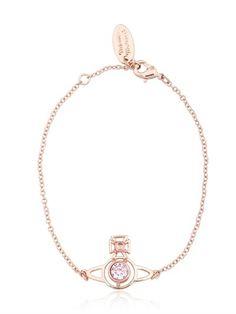 Vivienne Westwood - Crystal Orbit Pendant Bracelet
