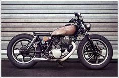 Philippe Lagente's '81 Yamaha SR500Brat