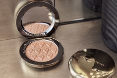 A staple of Gucci's makeup kit, we're equally obsessed with this shimmer-free matte bronzer that gives an outdoorsy, fresh-from-the-beach glow. Cocoa and mango seed butters nourish the skin, while biomimicry actives lock in hydration and protect from environmental stressors. Sweep over cheeks, eyes, temples and forehead for a natural, sun-kissed bronze. #naturalbeauty Beach Glow, Makeup Kit, Clean Beauty, Bronzer, Fragrance, Butter, Cleaning, Sun Kissed, Temples
