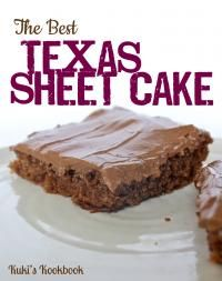 The Best Texas Sheet Cake Recipe