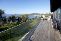Welcome to Copa's Luxury Beach House. A 5 bedroom house situated on the clifftop of Copacabana on the Central Coast, just an hour from Sydney. This stunning beach house affords complete privacy and offers an ocean view from every room.