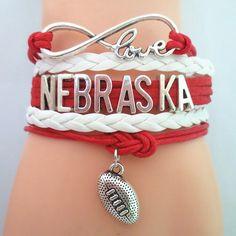 Infinity Love Nebraska Football BOGO