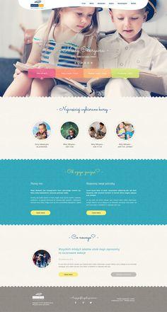 Website for School Academy on Behance
